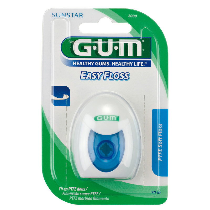 GUM® Easy-Floss zobu diegs