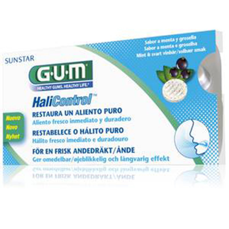 GUM® Halicontrol 10 tabletes.