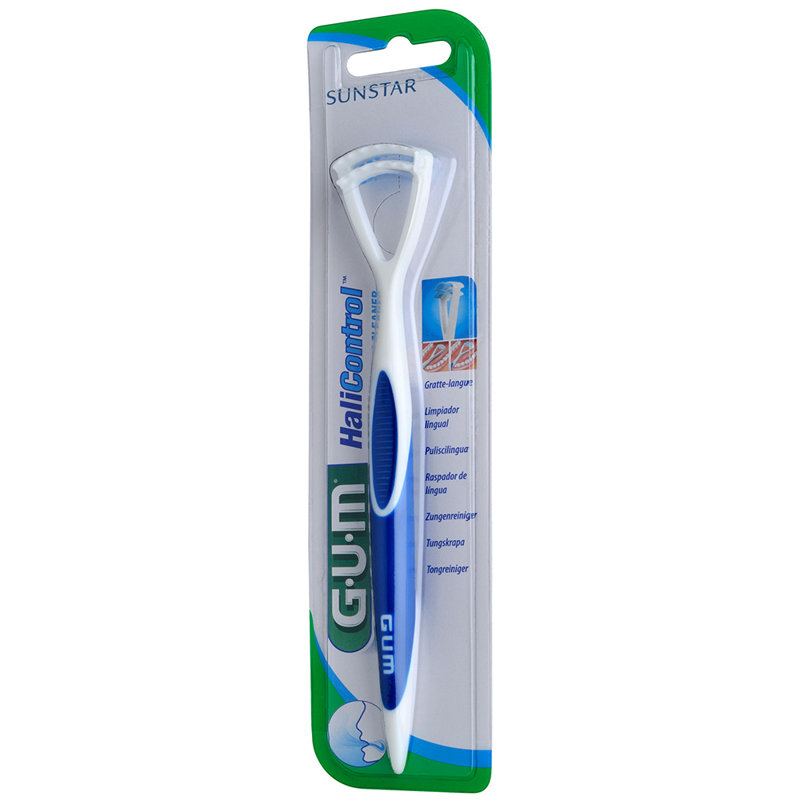 GUM® Tongue Cleaner Hali Control mēles tīrītājs