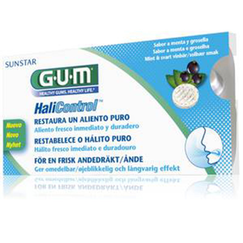 GUM® Halicontrol 10 tabletes.
