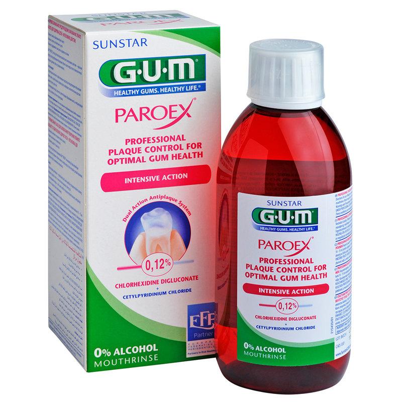 GUM® Paroex® 0,12% mutes skalojamais