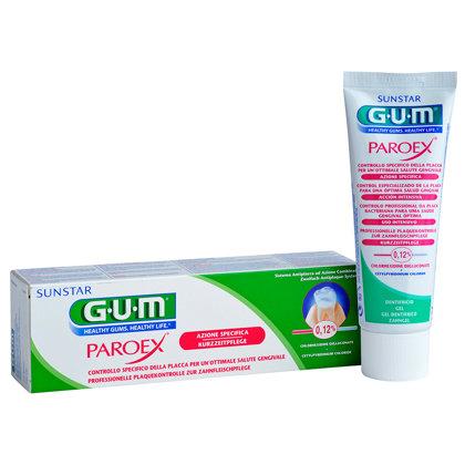 Ārstnieciskais gēls GUM® Paroex® īstermiņa lietošanai